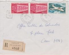 TAD  14 Caen R.P. Annexe Mobile 1 Calvados 03/10/1969 Sur LR - Postmark Collection (Covers)