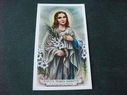 SANTINO HOLY PICTURE SANTA MARIA GORETTI  MARTIRE DELLA PURITA' 2/247 - Religion & Esotericism