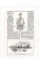 Guerr 1914-18-dessins Allemands-illies-aubers-fromelles-neuve-chapelle-fournes Etc...rare - Guerre 1914-18