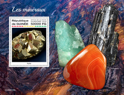 GUINEA 2020 - Minerals S/S. Official Issue [GU200105b] - Minerales