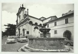 CANINO ( VITERBO ) PIAZZA COSTANTINO DE ANDREIS  - VIAGGIATA   FG - Viterbo