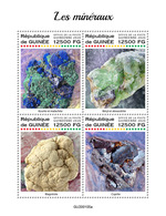 GUINEA 2020 - Minerals. Official Issue [GU200105a] - Minerales