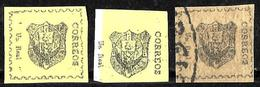 529 - DOMINICANA - 1865 - FORGERIES, FALSES, FAKES, FAUX,, FALSCHEN - Francobolli