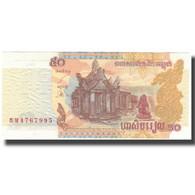 Billet, Cambodge, 50 Riels, KM:52a, NEUF - Cambodia