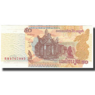 Billet, Cambodge, 50 Riels, KM:52a, NEUF - Kambodscha