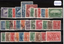 Canada  (1930)n° Divers à Partir Du152 - Gebruikt