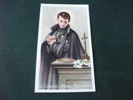 SANTINO HOLY PICTURE SAN GABRIELE DELL'ADDOLORATA 2/262 - Religione & Esoterismo