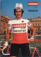 Postcard Giovanni Battaglin - Carrera-Inoxpran - 1984 - Ciclismo