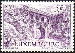 Luxembourg Architecture N°  629 ** Pont Du Château - Bridges