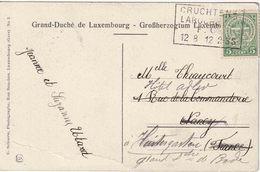 """LUXEMBURG : AMBULANT ZK (Duchesse) PZ (LUX)  """"CRUCHTEN- / LAROCHETTE / 12.8.12 """" - Andere"""