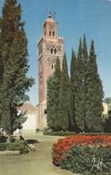 Carte Postale. Maroc. Marrakech. Mosquée La Koutoubia. Edition Jeff. Etat Moyen. Petites Taches. - Islam