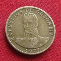 Colombia 2 Pesos 1977 KM# 263  Colombie - Colombia