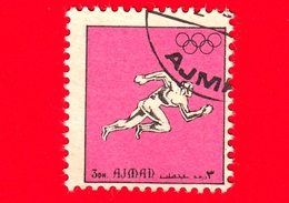 AJMAN - Usato - 1972 - Sport - Giochi Olimpici - Corsa - Formato Piccolo - 3 - Ajman