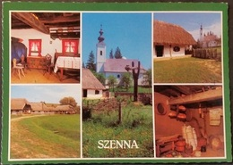 Ak Ungarn - Szenna - Ortsansichten - Kirche - Hungary