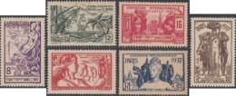 Inde Française - N° 109 à 114 (YT) N° 109 à 114 (AM) Neufs *. - India (1892-1954)