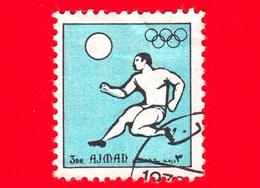 AJMAN - Usato - 1972 - Sport - Giochi Olimpici - Calcio - Formato Piccolo - 3 - Ajman