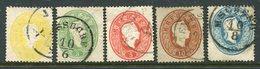 AUSTRIA 1860 Franz Joseph Set Perforated 14 Fine Used. - 1850-1918 Impero