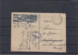 Reich Michel Kat.Nr. B&M  Karte Feldpost Durch Dienstpost - Besetzungen 1938-45