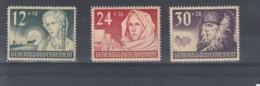 Reich Michel Kat.Nr. GG Postfr/** 56/58 - Besetzungen 1938-45