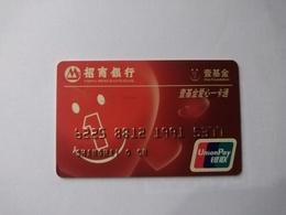 China, One Foundation, Red Cross (1pcs) - Cartes De Crédit (expiration Min. 10 Ans)