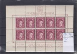 Reich Michel Kat.Nr. GG  Postfr/** 104 Plf IV KB - Besetzungen 1938-45