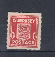 Reich Michel Kat.Nr.  Guernsey  Postfr/** 2 - Besetzungen 1938-45