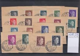 Reich Michel Kat.Nr.  Ostland Gest 1/18 - Besetzungen 1938-45