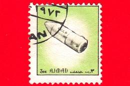 AJMAN - Usato - 1972 - Navicelle Spaziali - Space Flight - Formato Piccolo - 3 - Ajman