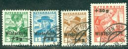 1935 Pipe,Costumes,Winter Aid,Winterhilfe,Austria,Österreich,613,CV€80/$100,VFU - Used Stamps