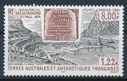 TAAF  -  2001  ,  Wissenschaftliche Expedition ... - Terre Australi E Antartiche Francesi (TAAF)