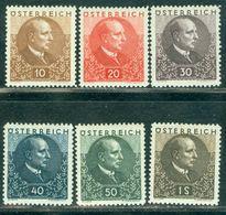 1930 President Wilhelm Miklas,Austria,Mi.512,CV€180/$225,MNH - Ungebraucht