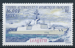 TAAF  -  2001  ,  Fregatte  La Fayette - Terre Australi E Antartiche Francesi (TAAF)