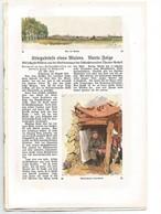 Guerr 1914-18-dessins Allemands-wavrin-herlies-notre -dame De Lorette...etc. - Guerre 1914-18