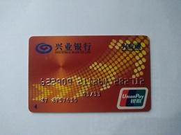 China, Industrial Bank,  (1pcs) - Cartes De Crédit (expiration Min. 10 Ans)