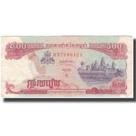 Billet, Cambodge, 500 Riels, KM:43a, TTB - Cambodia