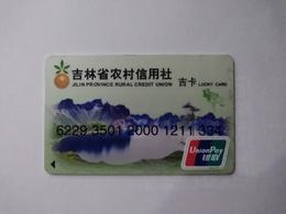 China, Tianchi Lake,Changbai Mountain,  (1pcs) - Cartes De Crédit (expiration Min. 10 Ans)