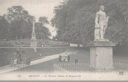 35 RENNES  LE THABOR  STATUE DE DUGUESCLIN - Rennes
