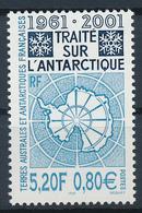 TAAF  -  2001  ,  40 Jahre Antarktisvertrag - Terre Australi E Antartiche Francesi (TAAF)