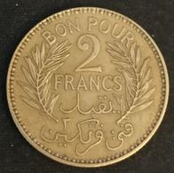 TUNISIE - TUNISIA - BON POUR 2 FRANCS 1945 ( 1364 ) - KM 248 - Chambre Du Commerce - Tunisia