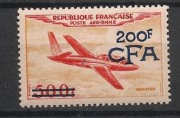 Réunion - 1954 - Poste Aérienne PA N°Yv. 54 - Magister 200f Sur 500f - Neuf Luxe ** / MNH / Postfrisch - Isola Di Rèunion (1852-1975)