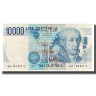 Billet, Italie, 10,000 Lire, 1984, 1984-09-03, KM:112d, TTB+ - 10000 Liras