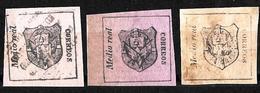 636 - DOMINICANA - 1865 - FORGERIES, FALSES, FAKES, FAUX,, FALSCHEN - Francobolli