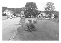 VOVRAY-EN-BORNES - Panneau Entrée - Autres Communes