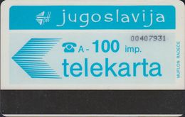 Jugoslawien - JUG-17 - 100Imp. Blue (Muflon Radece) - Magnetsystem - Yougoslavie