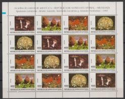 Guinée  équatoriale - 1997 - N°Yv.  350 à 353 - Feuillet Champignons - Neuf Luxe ** / MNH / Postfrisch - Guinea Ecuatorial