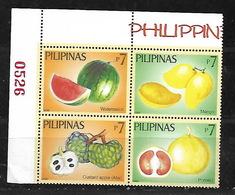 PHILIPPINES 2006 FRUITS BLOCK MNH - Philippinen
