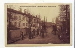 Cpa St Vincent De Tyrosse  Quartier De La Gendarmerie - Saint Vincent De Tyrosse
