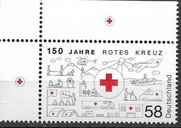 2013  Deutschland Mi. 2998 **MNH  EOL 150 Jahre Rotes Kreuz - [7] Repubblica Federale