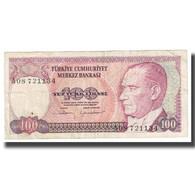Billet, Turquie, 100 Lira, 1970, 1970-01-14, KM:194b, TB+ - Türkei