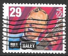1993 29 Cents Music Legends, Bill Haley, Booklet Stamp, Used - Vereinigte Staaten